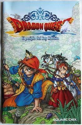 Dragon Quest VIII - El Periplo del Rey Maldito - Manual Pal España portada