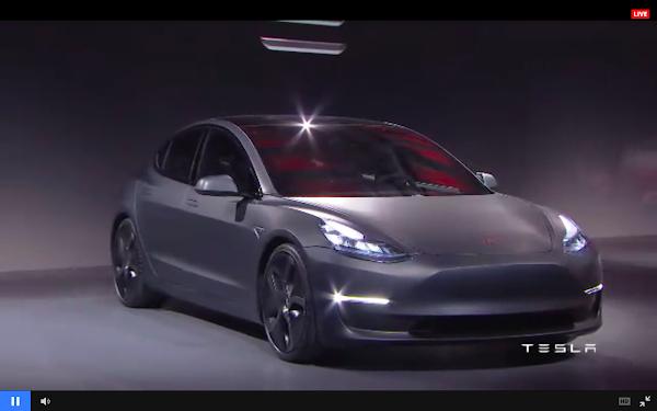 [2016未來商務] 不用再癡等,Tesla史上最便宜電動車Model 3正式開放台灣民眾預訂!