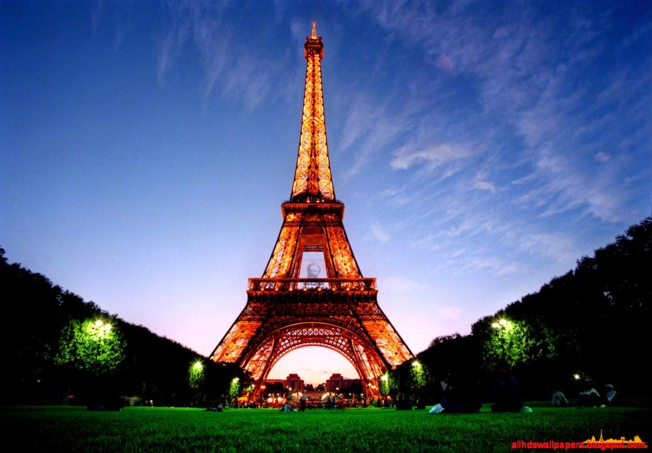 3D Paris Eiffel Tower Wallpaper Hd