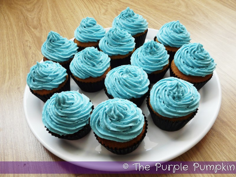 Starman Cupcakes Nintendo Party The Purple Pumpkin Blog