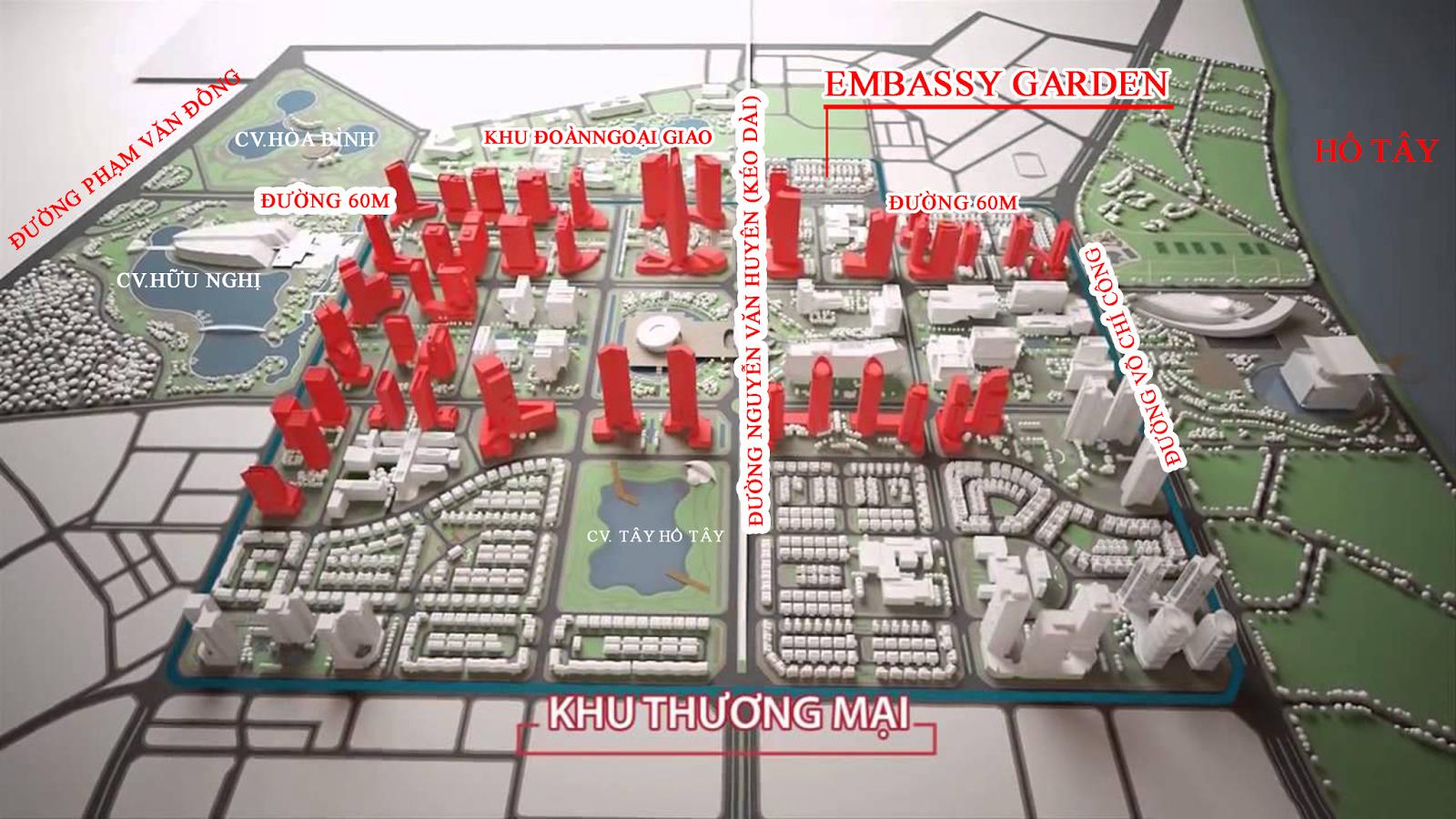 Dự án Embassy Garden - Đẳng cấp của cuộc sống thượng lưu