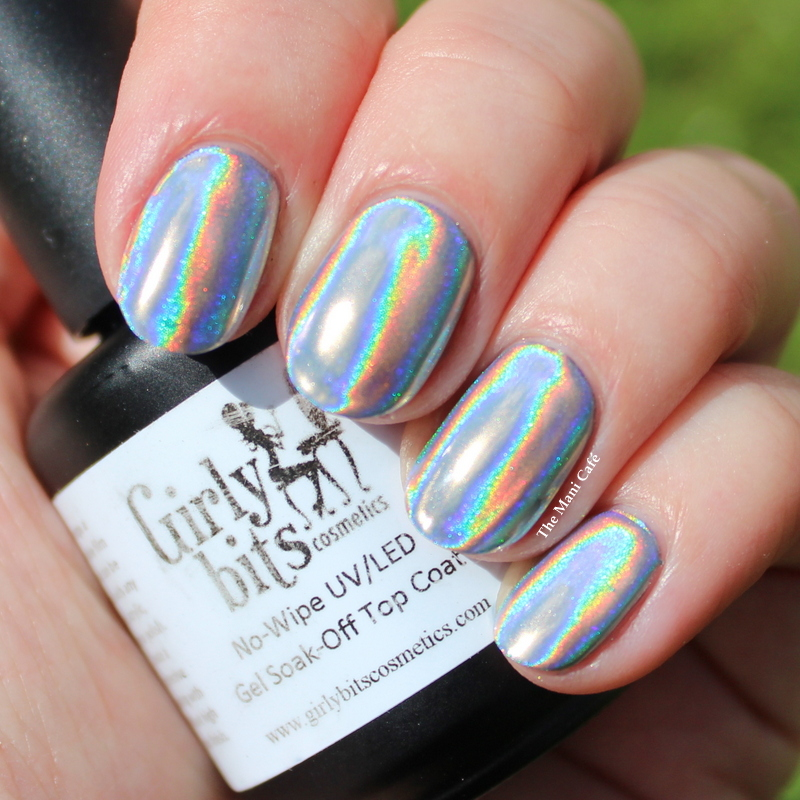 The Mani Café: Girly Bits Fine UltraChrome Holographic Powder