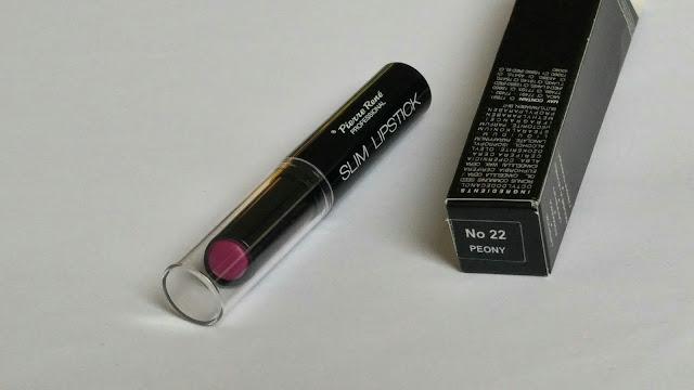 Pierre René Professional Slim Rich Lipstick semi matte - Semi matte lipstick, matte lipstick, pierre rene professional, atomic, peony, famous, cheap lipstick, cheap matte lipstick, pierre rené