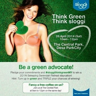 Sloggi, Think Green, Be A Green Advocate, Sloggi Think Green, eco friendly