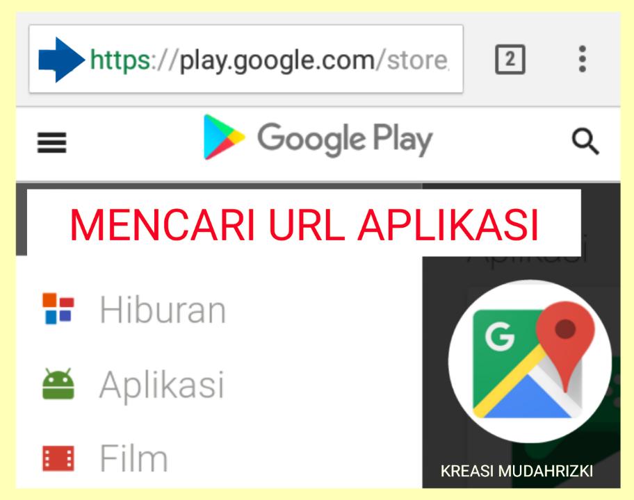 Bagaimana Cara Menemukan URL Aplikasi Google Play Untuk Membuat Link di Blog?