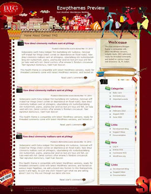 Single blogger template. converted WordPress to Blogger template. girly template blog