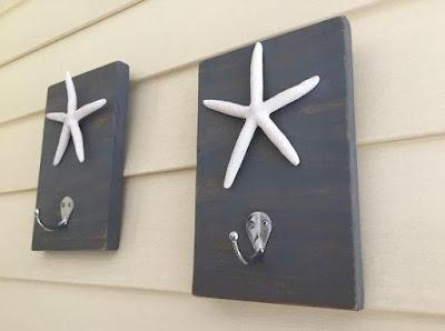 Starfish Towel Hooks