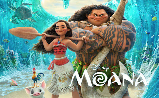 Review Film  Film Animasi Moana (2016)