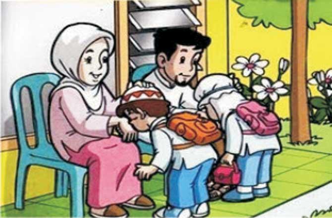 Berbakti Kepada Orang Tua, Berbakti Kepada Ibu, Berbakti Kepda Ayah, Baktiku Kepadamu Ibu, Bapak