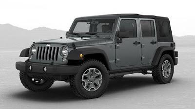 Harga Jeep Wrangler Rubicon
