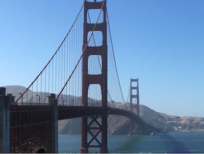 San Francisco - California golden gate