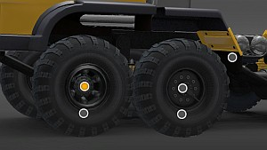 BIG OFFROAD WHEELS PACK