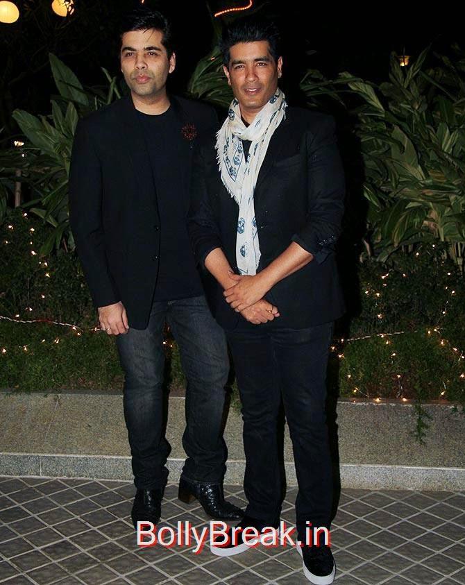 Karan Johar and Manish Malhotra, Bollywood Celebrities At Farah Khan's GRAND 50th Birthday Party