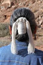 Navajo Hair Bun Women