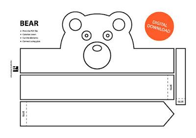 descarga gratis corona máscara de oso
