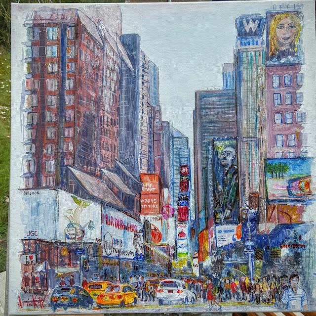 Les peintures d\'Annick: Série peintures de New York