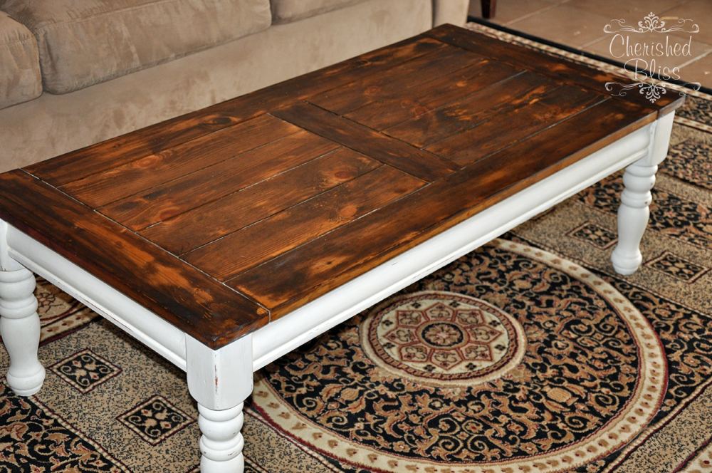 ideas on how to redo my coffee table