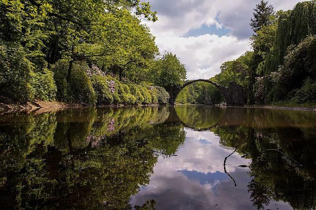 Alemanha: as pontes mais fantásticas! Rakotzbrücke