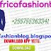 Download App yako ya Africafashionblog
