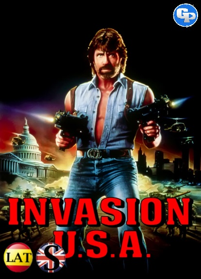 Invasión USA (1985) HD 1080P LATINO/INGLES