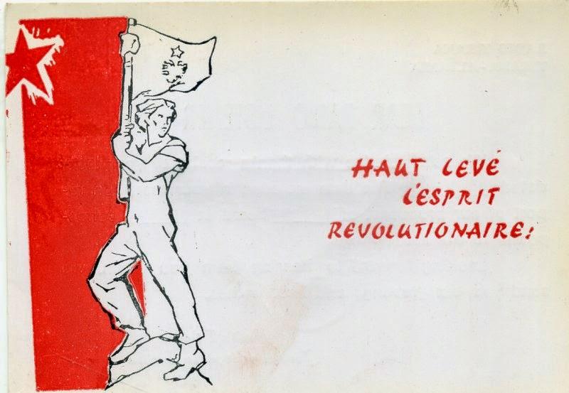 Una cartolina da Radio Tirana: in alto lo spirito rivoluzionario!