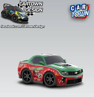 Chevrolet Camaro ZL1 2012 Mountain Dew