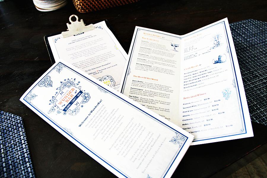 hotel tapas menu