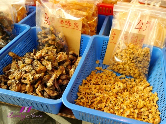 hong kong tourist attraction tai o dried seafood