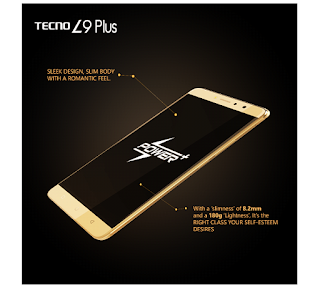 Tecno L9 Plus dimensions
