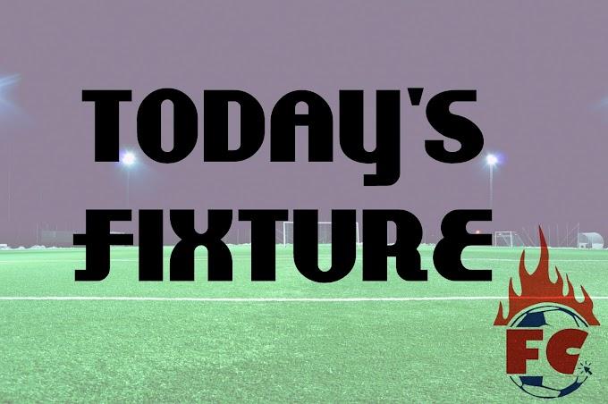 [17/12/2018] Today's Fixture