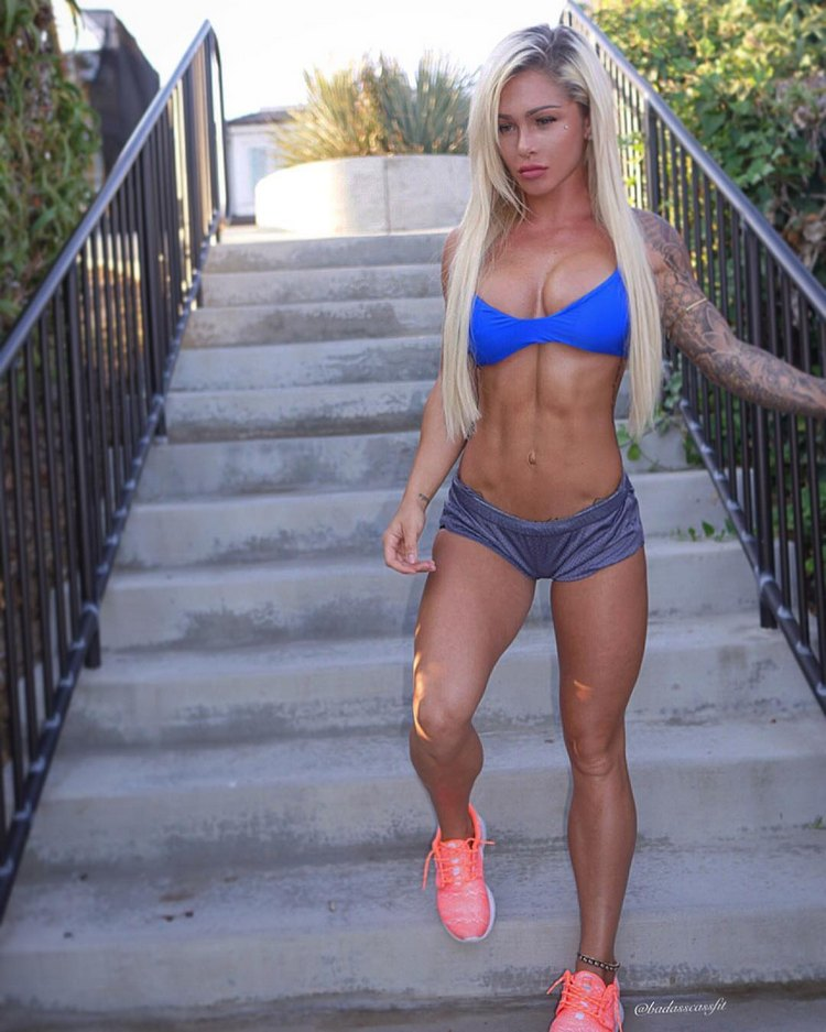 Australian Fitness Model BadAssCassFit