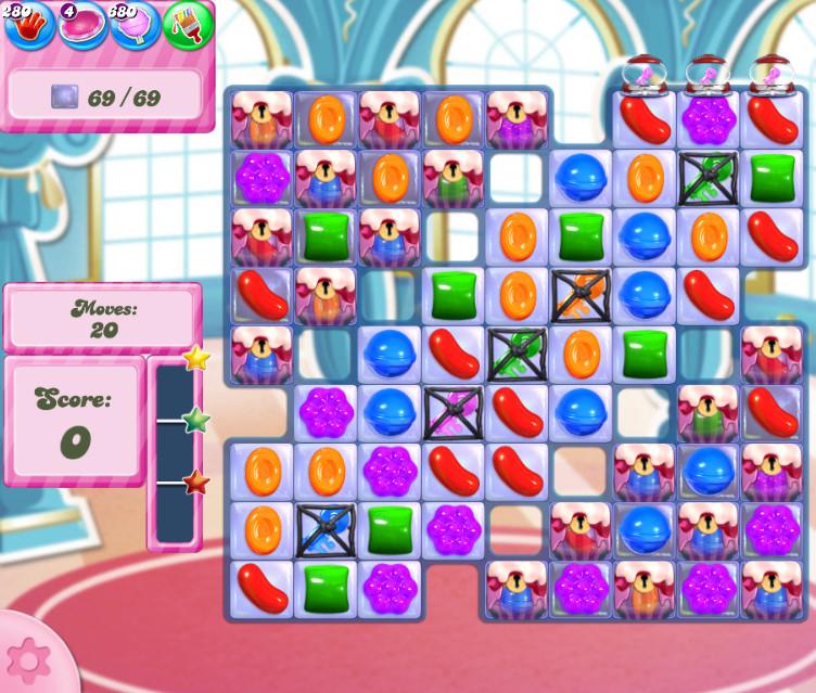 Candy Crush Saga level 2739