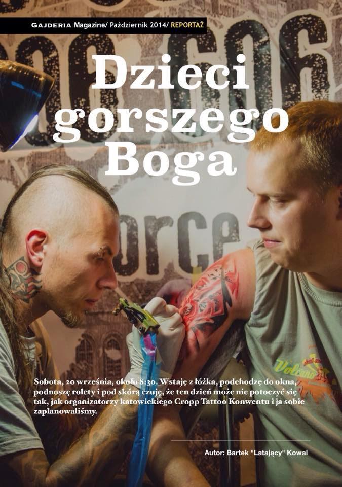październikowy numer Gajdera Magazine