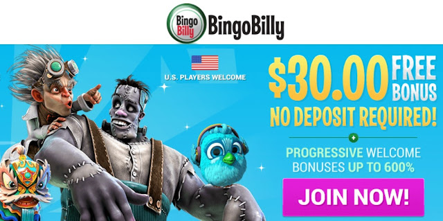 Bingo Billy Welcome Offer