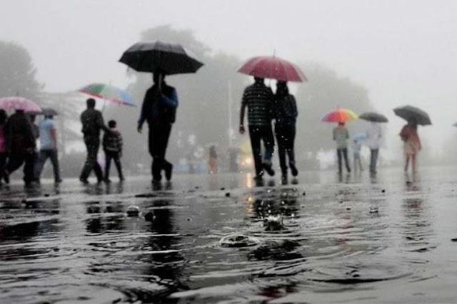 Heavy rainfall warning for Assam & Meghalaya