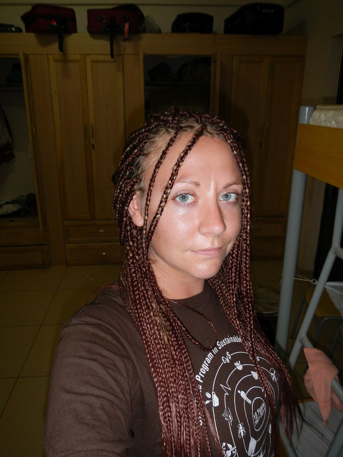 Life In Ghana I Got My Hair Did Rasta Braids