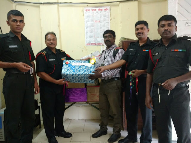 Pidilite presents Rakhis made by students across India to the Indian Army on Raksha Bandhan