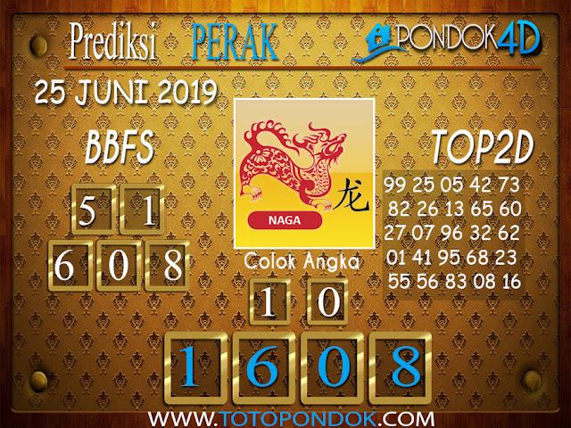 Prediksi Togel PERAK PONDOK4D 25 JUNI 2019