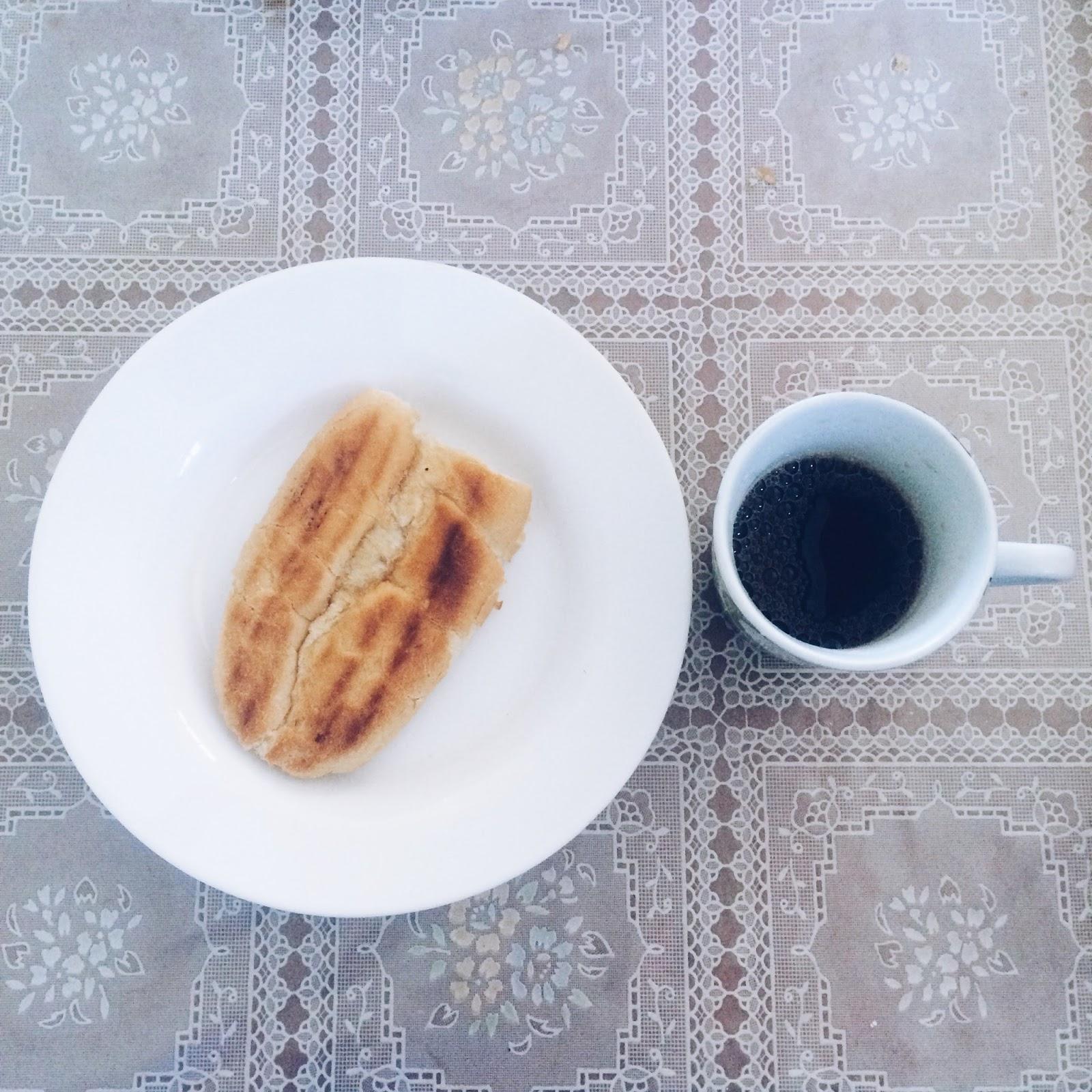 café da manhã diferente
