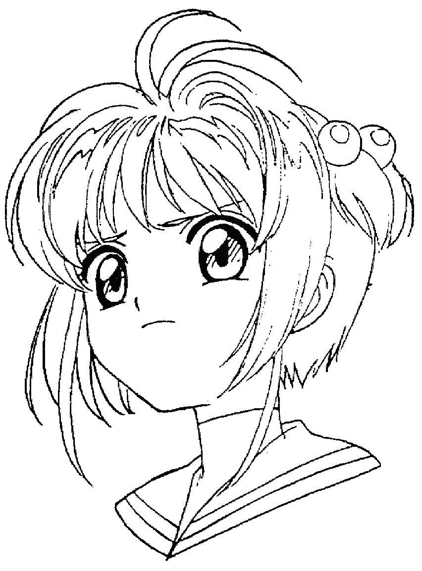 Vistoso Linda Pareja De Anime Para Colorear Para Imprimir Componente ...