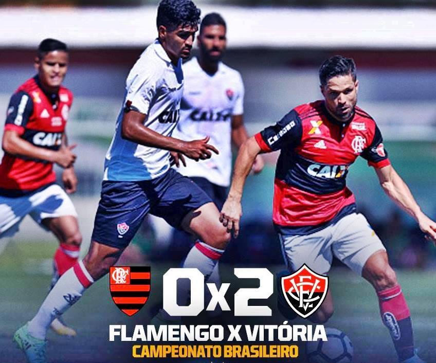 Melhores momentos: Flamengo 0 x 2 Vitória pela 19ª rodada do Brasileirão 1
