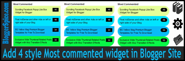 commented widget