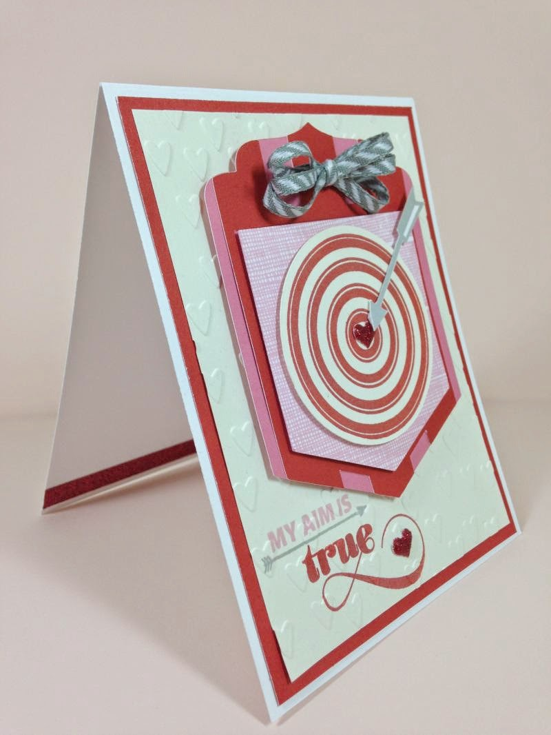 Cricut Bullseye card sideview