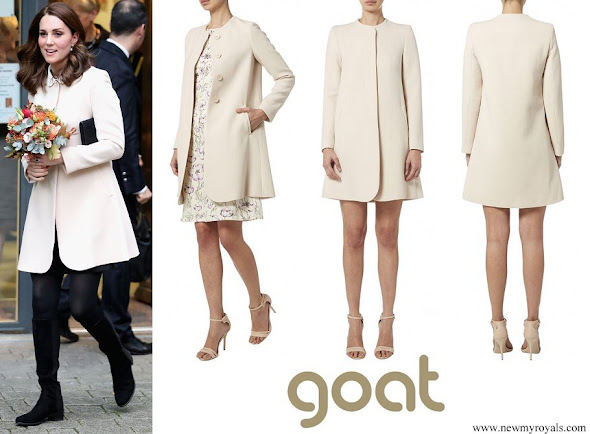 Kate Middleton wore Goat Redgrave Coat