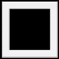Moldura quadrada cinza claro  - criação Blog PNG-Free