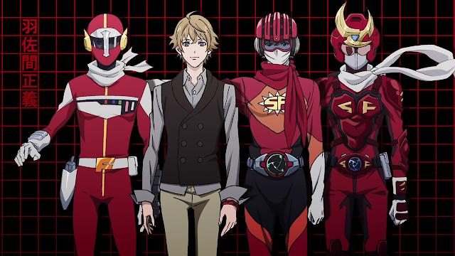 Samurai%2BFlamenco Top 15 Anime Super Hero