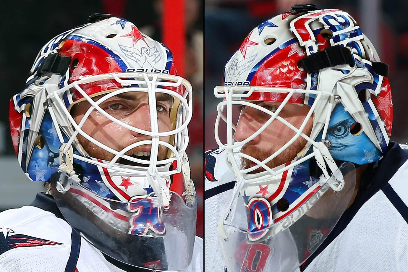 I Love Goalies Braden Holtby 2014 15 Mask