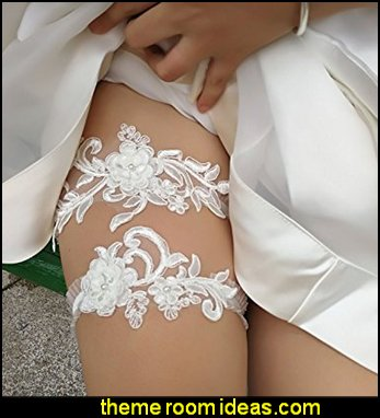 Wedding garters for brides