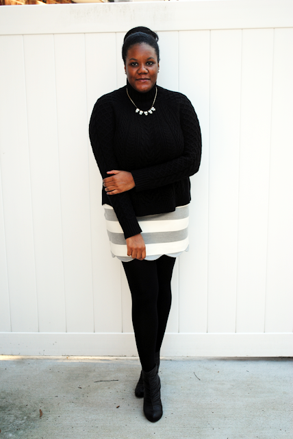 An outfit inspiration post featuring Ann Taylor, Topshop and Loren Hope.