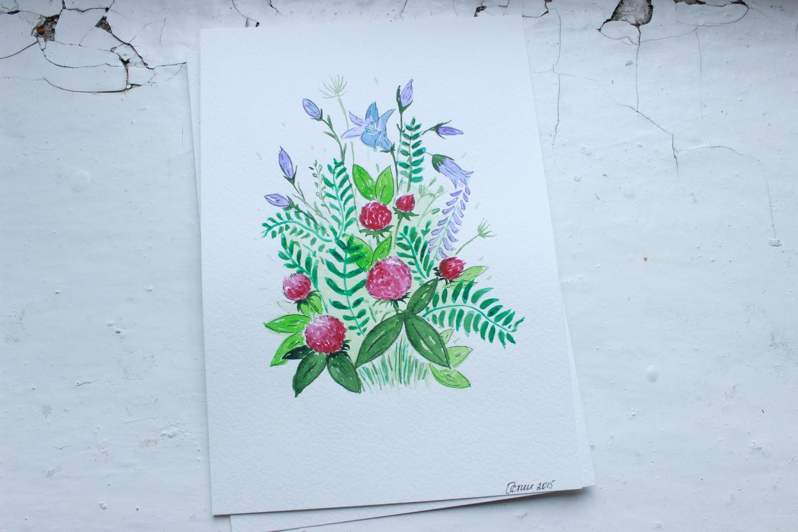 Цветы фотосессия своими руками